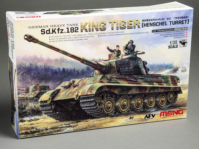 "Meng German Heavy Tank Sd.Kfz.182 ""King Tiger"""
