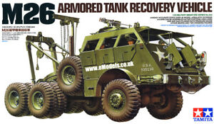 Tamiya M26 - Armored Tank Recovery Vehicle - The Tank Museum