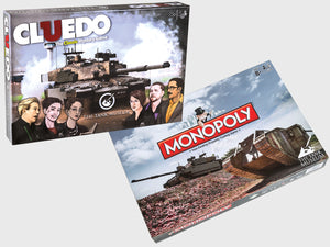 Tank Museum Board Game Duo - The Tank Museum