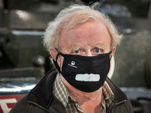 David Fletcher Moustache Face Mask