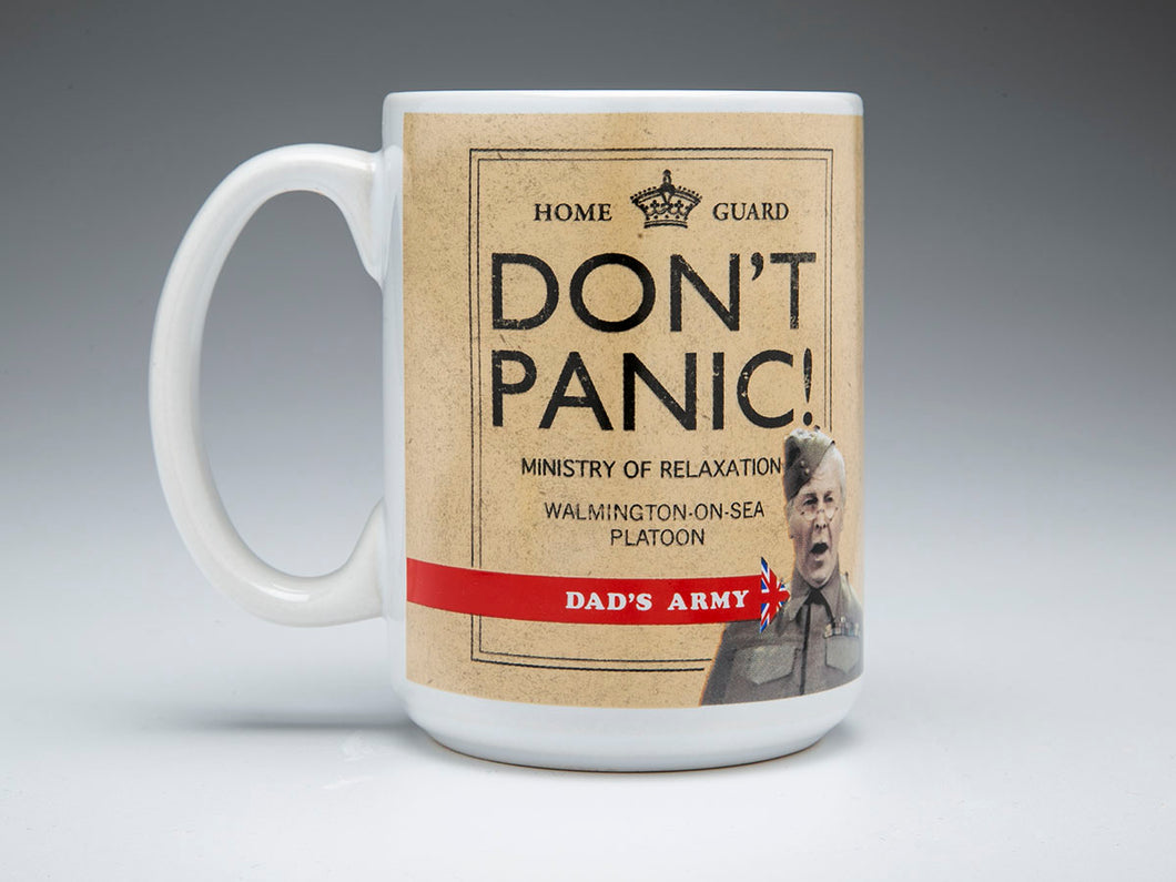 Dad's Army 'Don't Panic!' Ceramic Mug - The Tank Museum