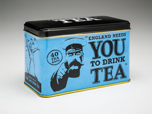ENGLAND NEEDS YOU! Tin with 40 English Afternoon Teabags - The Tank Museum