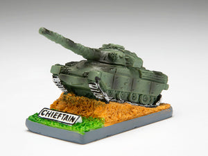 Chieftain Small Resin Model - The Tank Museum