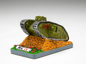 British Mk IV Tank Small Resin Model - The Tank Museum