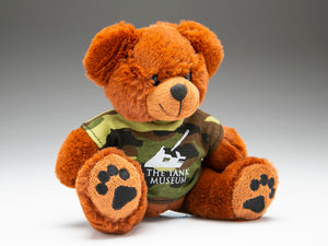 The Tank Museum Teddy Bear with Camo T-shirt - The Tank Museum