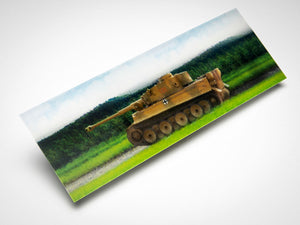 Tiger 131 3D Moving Bookmark - The Tank Museum