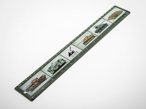 The Tank Museum 30cm Ruler - The Tank Museum