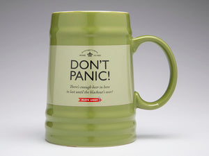 Dad's Army 'Don't Panic' Tankard - The Tank Museum