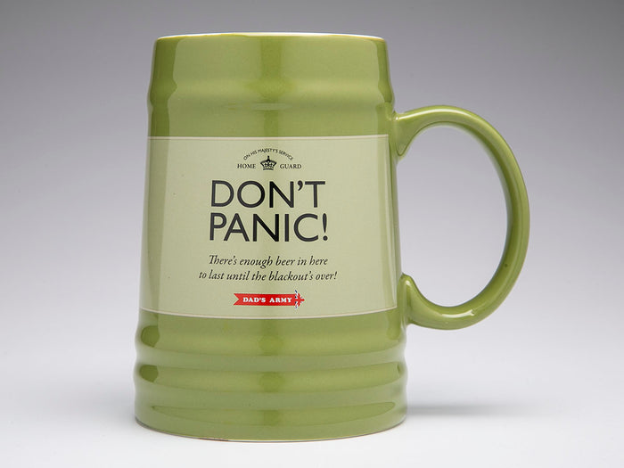 Dad's Army 'Don't Panic' Tankard