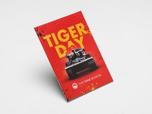 Tiger Day Fridge Magnet