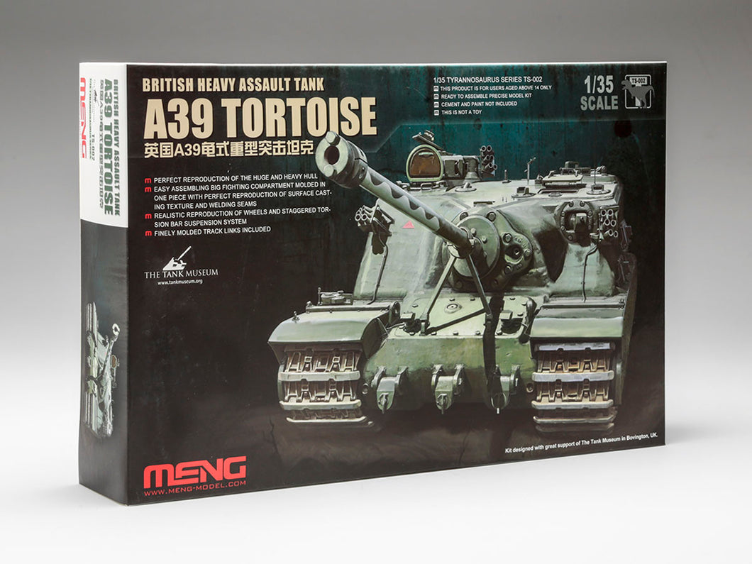 Meng 1/35 A39 Tortoise - The Tank Museum