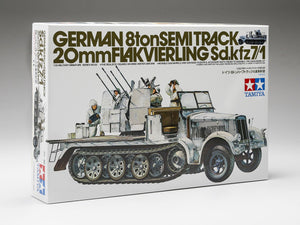 Tamiya 8 ton half track with 2mm flak 1/35 - The Tank Museum