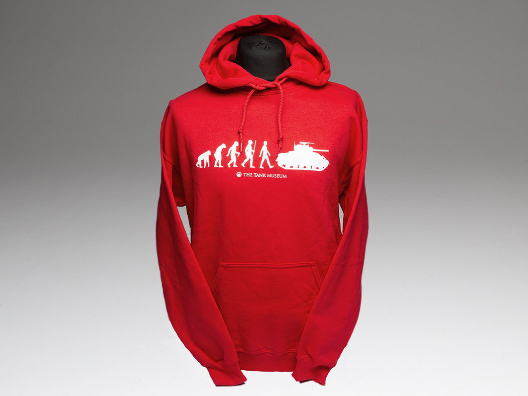 Evolution of Man Hoodie - The Tank Museum