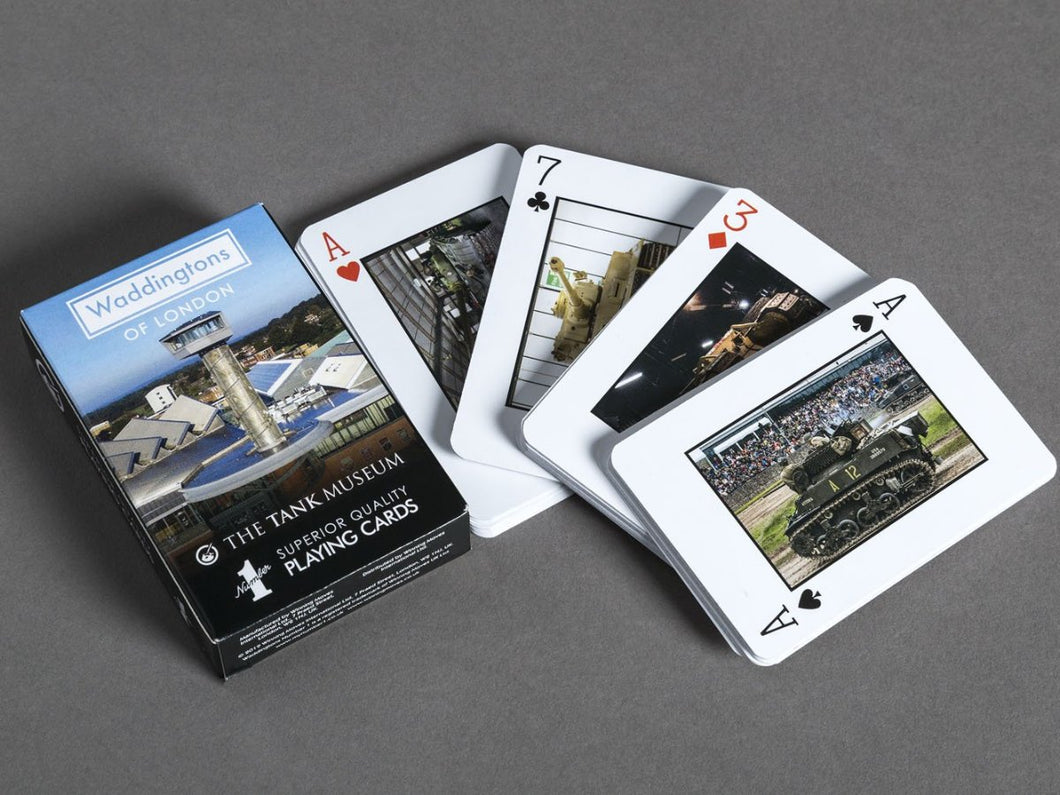 Tank Museum Playing Cards - The Tank Museum
