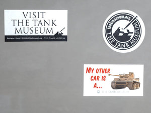 Tank Museum Car Stickers