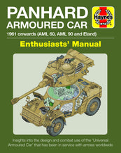Load image into Gallery viewer, Panhard AML Armoured Car Haynes Manual - The Tank Museum