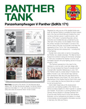 Load image into Gallery viewer, Panther Tank Haynes Manual