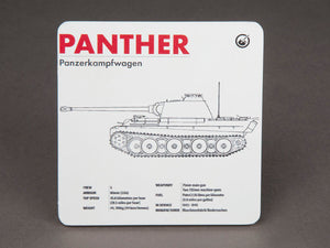 Panther Technical Data Coaster - The Tank Museum