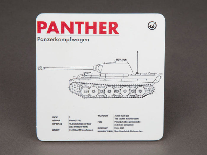 Panther Technical Data Coaster