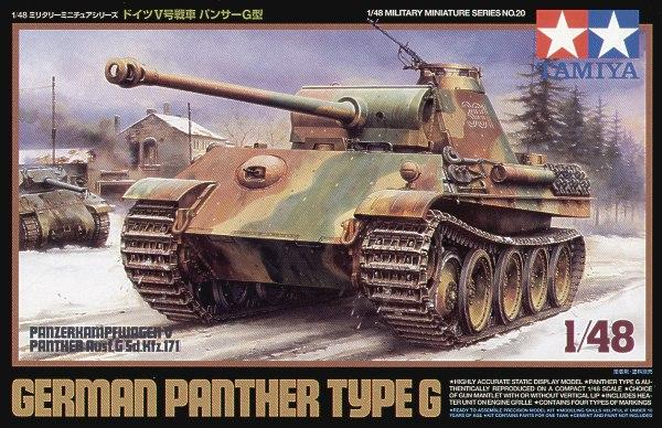 Tamiya 1/48 Panther Type G - The Tank Museum