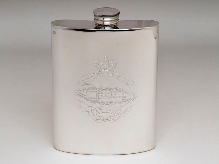 Royal Tank Regiment Hip Flask