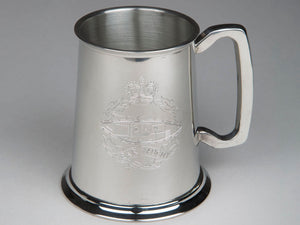 Royal Tank Regiment Pewter Tankard