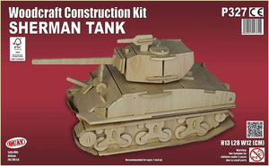 Sherman Woodcraft Kit - The Tank Museum