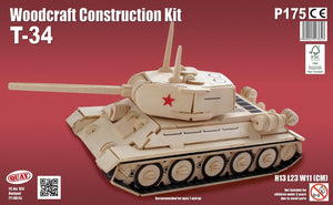 T34 Woodcraft Kit - The Tank Museum