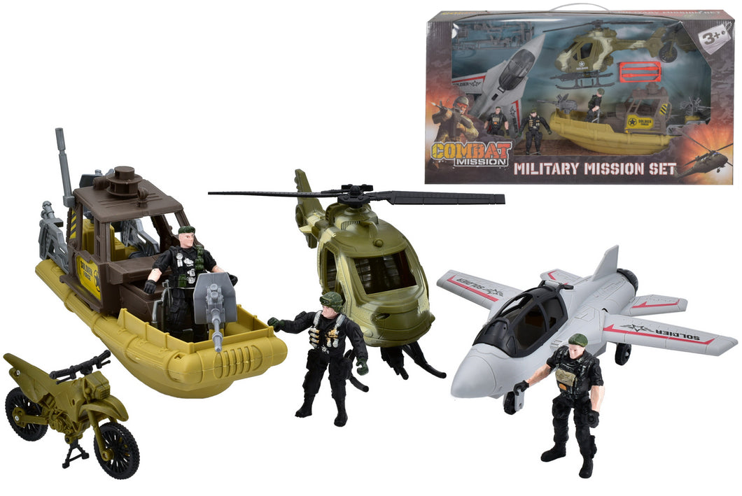 Combat Mission: Large Army Military Playset