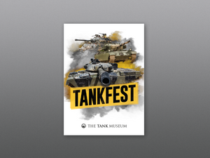 TANKFEST Fridge Magnet - The Tank Museum