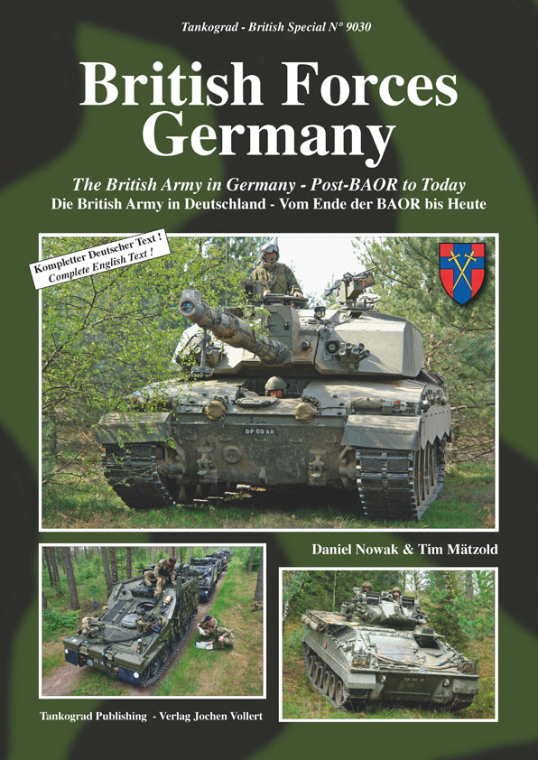 Tankograd No.9030 - British Forces Germany