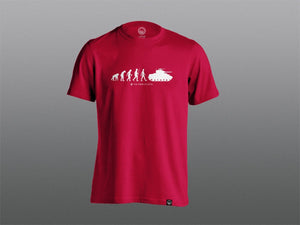 Evolution of Man T-Shirt - The Tank Museum