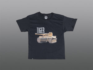 Kids Black Tiger 131 T-Shirt - The Tank Museum