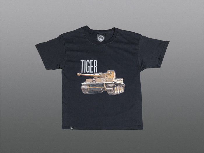 Kids Black Tiger 131 T-Shirt