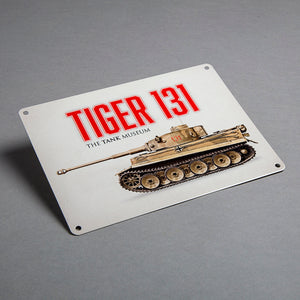 Tiger 131 Metal Sign