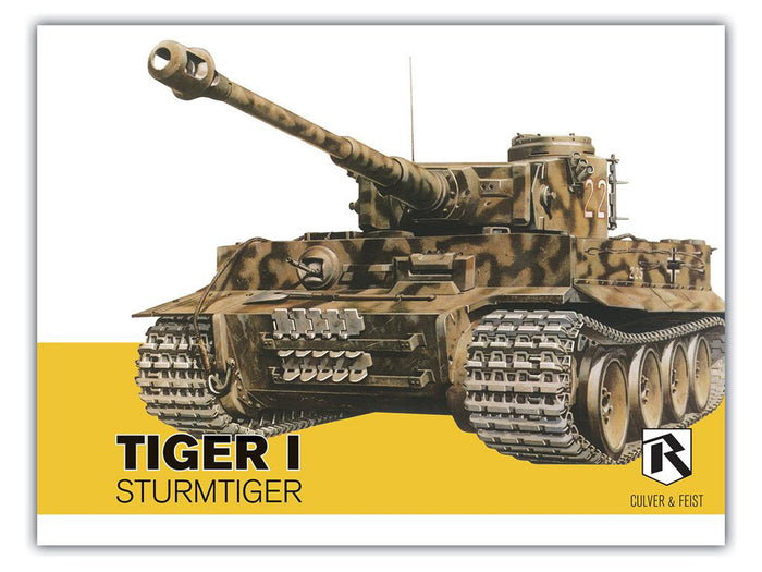 Tiger I and Sturmtiger in detail