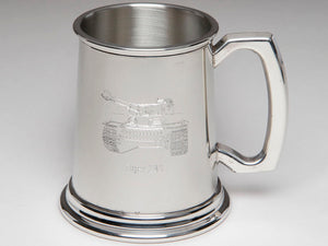 Tiger 131 Pewter Tankard - The Tank Museum