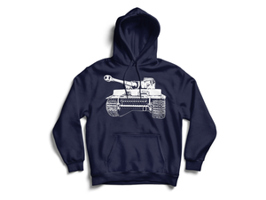 Graphic Tiger Hoodie - The Tank Museum