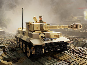 Brickmania Tiger 131 Model Kit - The Tank Museum