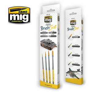 Ammo by Mig Starter Brush Set - The Tank Museum