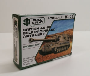 1/72 British AS-90 Self Propelled Artillery - The Tank Museum