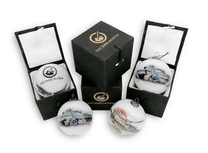 Tank Museum Christmas Bauble - White - The Tank Museum