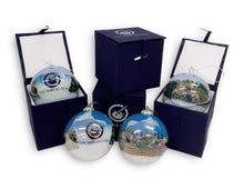 Load image into Gallery viewer, Tank Museum Christmas Bauble - Blue - The Tank Museum