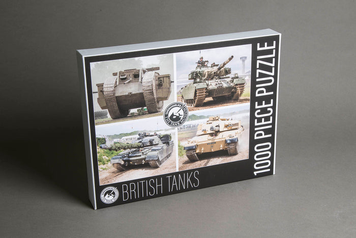 British Tanks Jigsaw