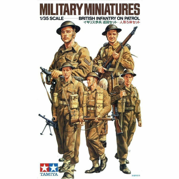 Tamiya Military Miniatures: British Infantry on Patrol