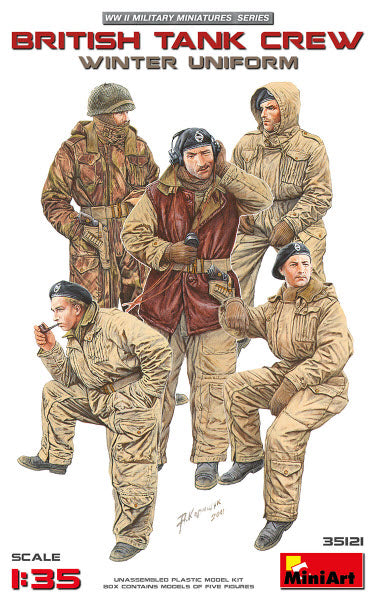 Miniart British Tank Crew- Winter Uniform - The Tank Museum