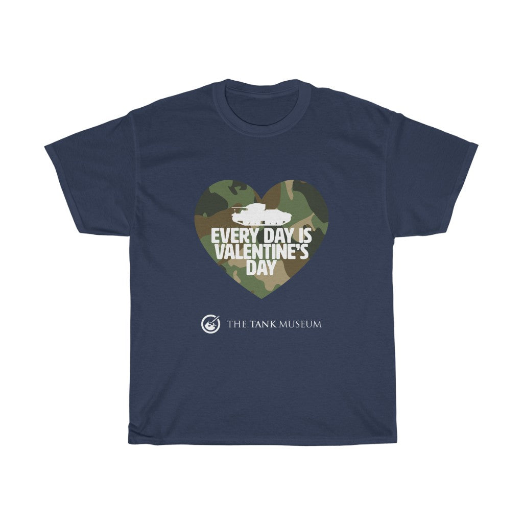 Every Day is Valentine's Day Camo T-Shirt