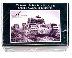 Caramel & Sea Salt Fudge & Salted Caramel Biscuits - The Tank Museum