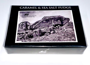 Caramel & Sea Salt Fudge - The Tank Museum