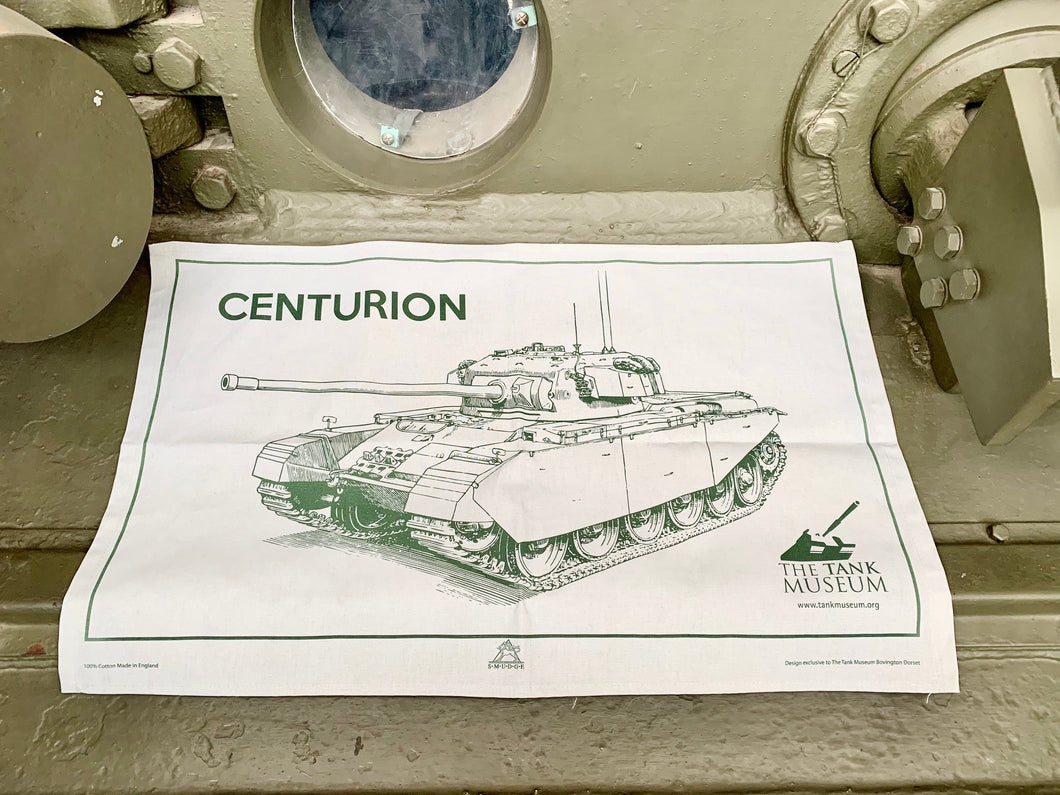 Centurion Tea Towel - The Tank Museum